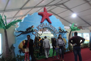 Lakshadeep hanger in International Trade fair 2017, Pragati Maidan , New Delhi