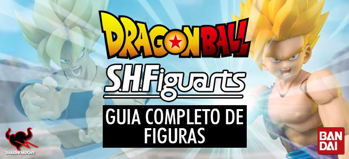 DRAGON BALL S.H.FIGUARTS: GUIA COMPLETO DE FIGURAS