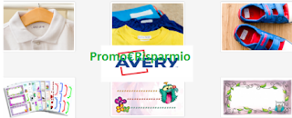 Logo Campioni omaggio etichette per la scuola Avery