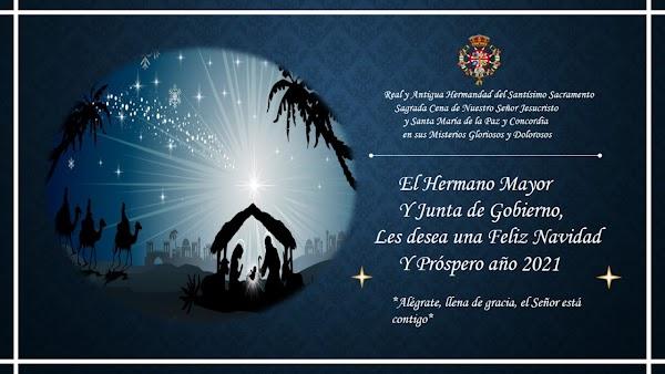 Felicitación Navideña de la Hermandad de la Sagrada Cena de Jerez de la Frontera