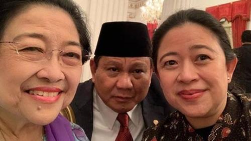 Temuan Survei Indomatrik, Gerindra-PDIP Koalisi Paling Potensial di Pilpres 2024