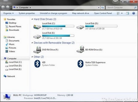 Cách ẩn ổ đĩa DVD, ổ cứng trên Windows 7