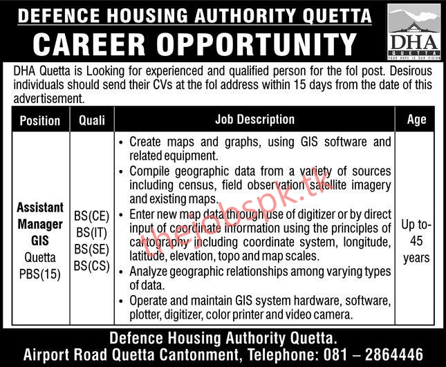 Defence Housing Authority DHA Jobs 2020 Latest Jobs Apply Online