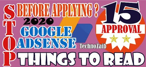 Stop Before Applying Google AdSense Approval--Read These 15 Things