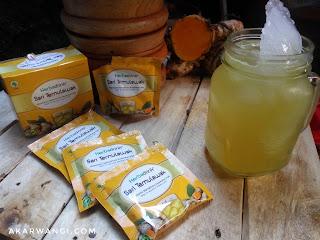 Herbadrink sari temulawak membantu memelihara kesehatan hati