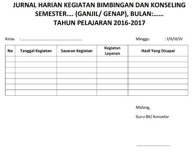 Contoh Laporan Jurnal Harian Download Contoh Lengkap Gratis