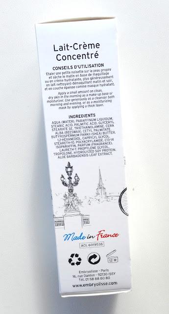 EMBRYOLISSE Lait Crème Concentré - Edition Limitée Paris