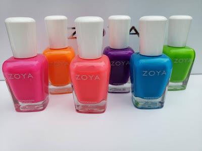 Zoya Easy Neon