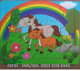 Game Puzzle Gambar Kuda