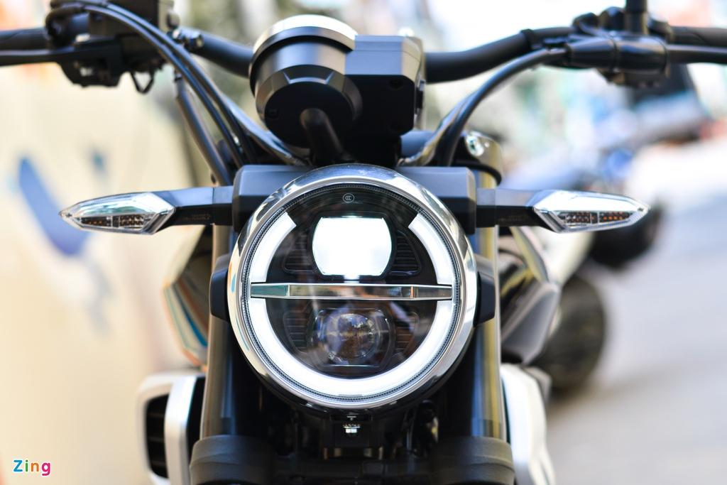 Honda CBF190TR cập bến VN - xe côn tay giá trên 80 triệu