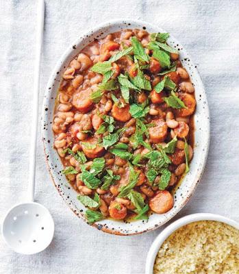 Vegan Instant Pot: White Bean and Carrot Tagine Recipe