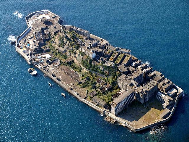 6 GUNKANJIMA  Japón  la isla prohibida