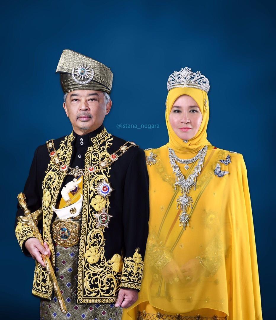 selamat pengantin baru tuanku ydpa permaisuri agong