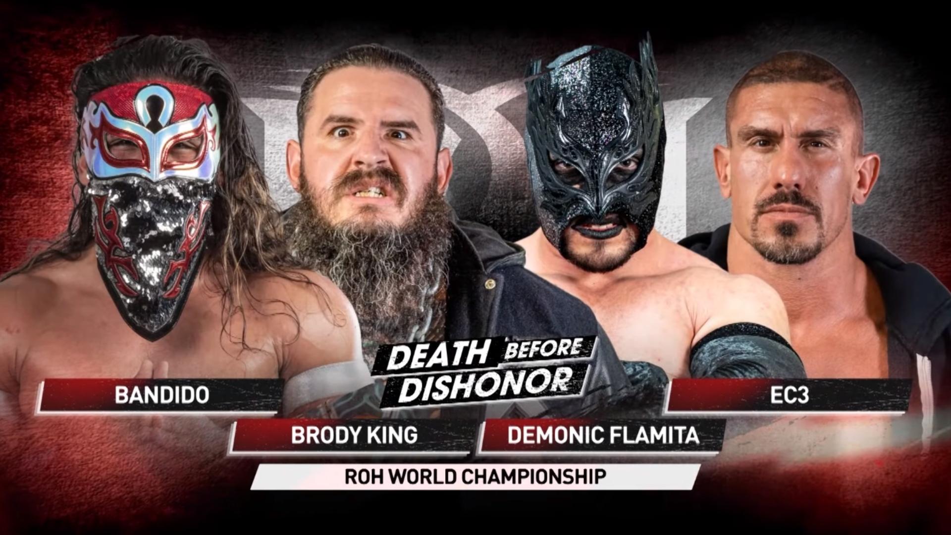 Comentários e Notas: ROH Death Before Dishonor 2021