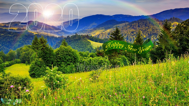 New year 2020  Beautiful Nature Desktop Background Download Free