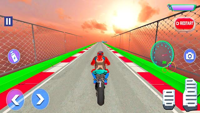 GT Motorbike Stunt Racing Game - apk download   Bike Games   Gadi Wala Game