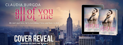 Cover Reveal: All of Me by Claudia Burgoa