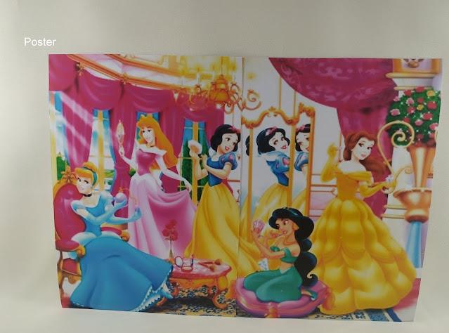 Poster As Princesas  Disney dicas e ideias para decoração de festa personalizados