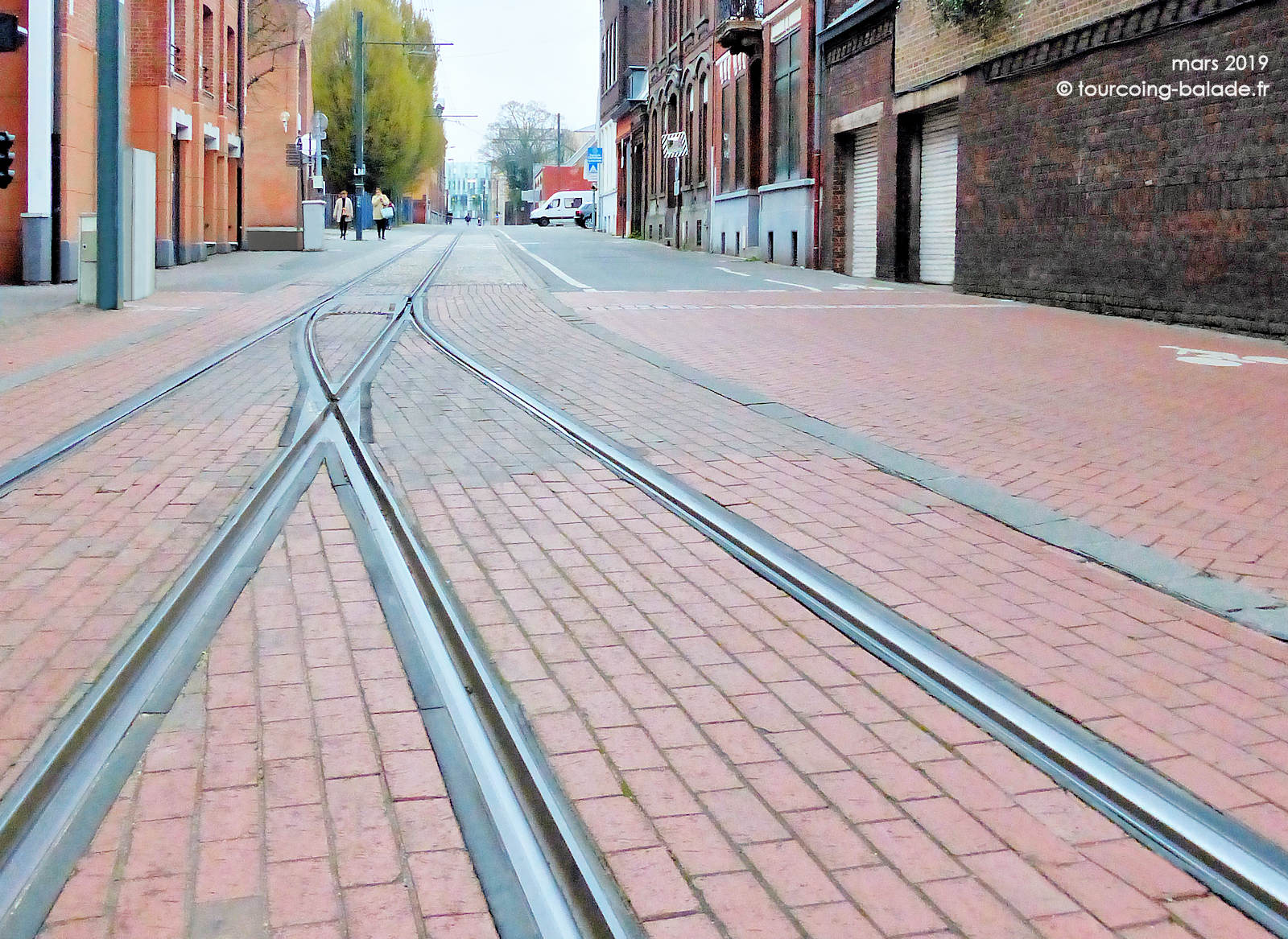 Rue Chanzy Tourcoing - Rails Tramway