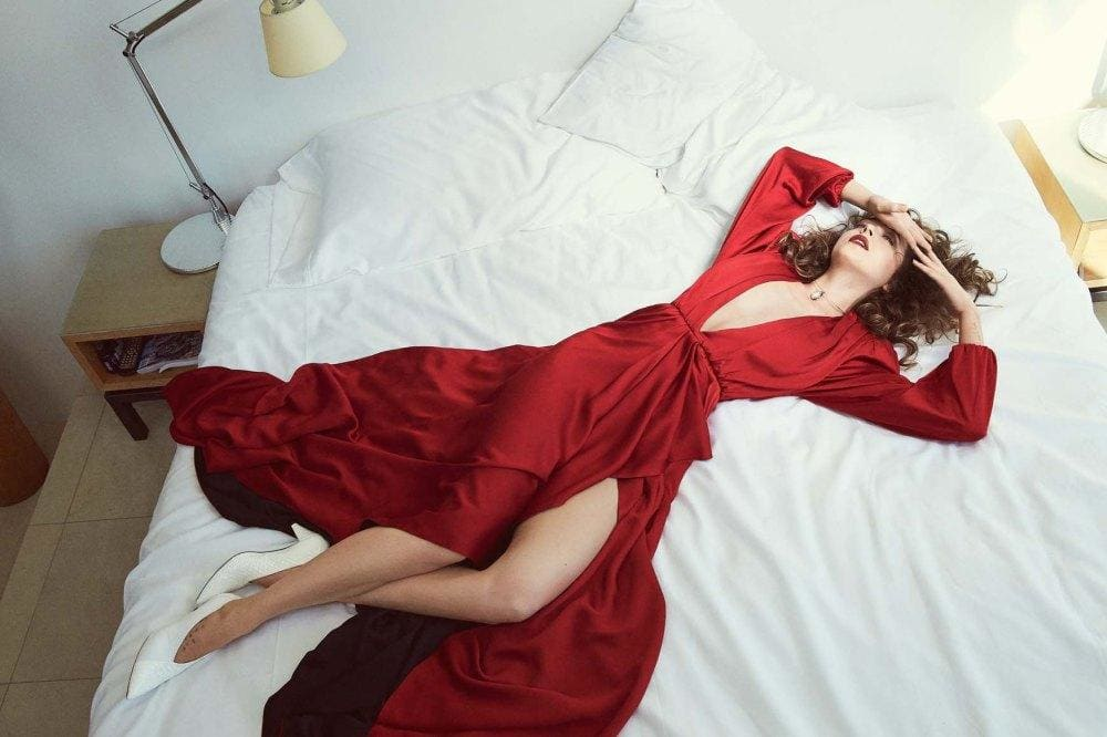 Dakota Johnson photographed by Emma Summerton for Vogue
