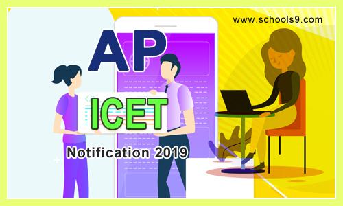 AP ICET Notification 2019