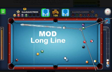 Download 8 Ball Pool Mod Apk Long Line Anti Banned Terbaru ...