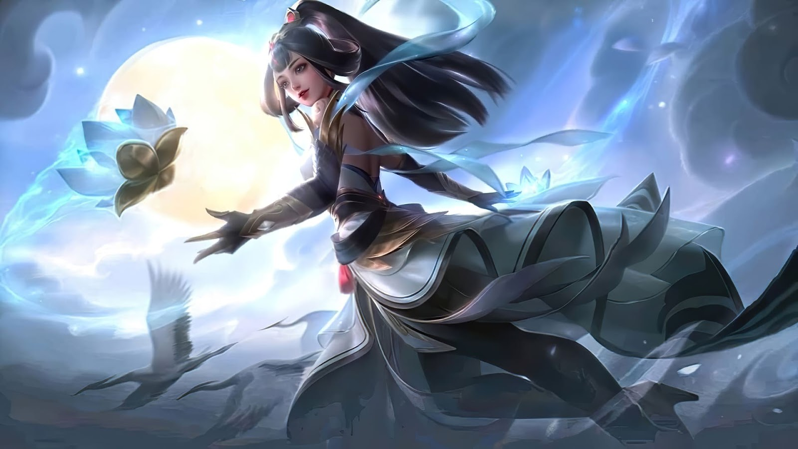 Wallpaper Guinevere Lady Crane Skin Mobile Legends HD for PC