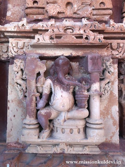 Lord Ganesha Idol (Bhuwal Mata Temple)