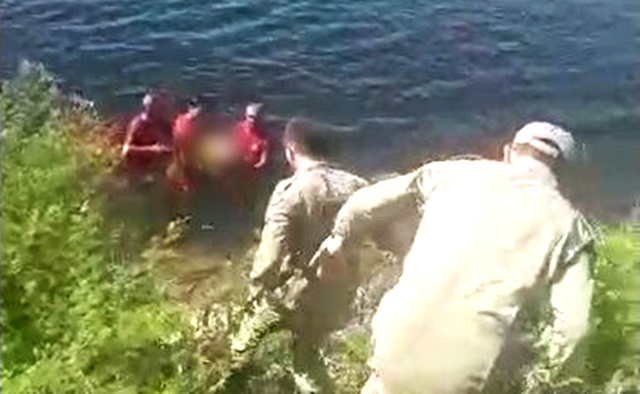 Vídeo: Bombeiros de Patos são acionados para socorrer mulher que se afogava no açude Jatobá em Patos