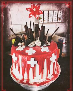 Drip-Cake, 1. August-Torte