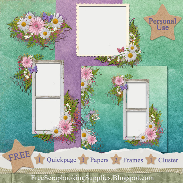 Country Living Scrapbook Kit