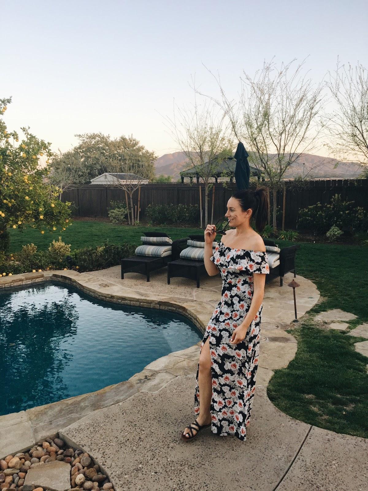 asos poolside dress