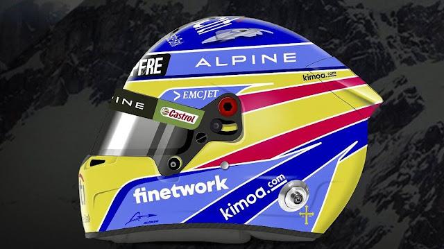 Casco Fernando Alonso 2021