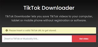 cara download video tiktok tanpa watermark di android