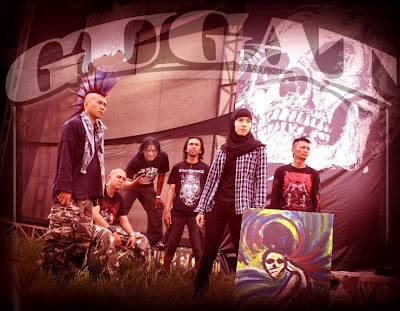 Gugat Band Hardcore bandung Female Vocal Achie Foto Images Logo Wallpaper