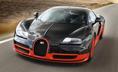 Bugatti Veyron road test image