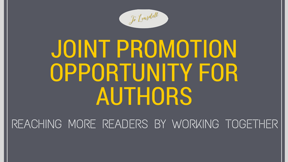 Joint Promotion Opportunity for Authors: Reaching More Readers by Working Together