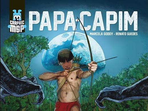 Nova graphic novel Maurício de Sousa: Papa-Capim - Noite Branca