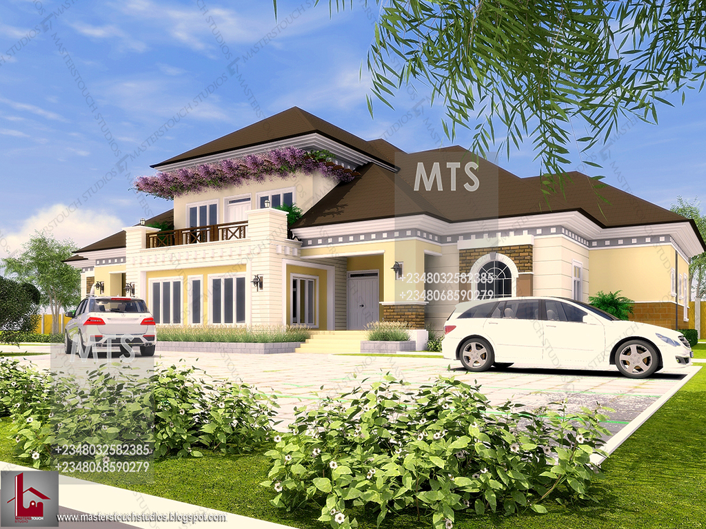 Mr spice 7 bedroom bungalow residential homes and for Beautiful bungalow designs