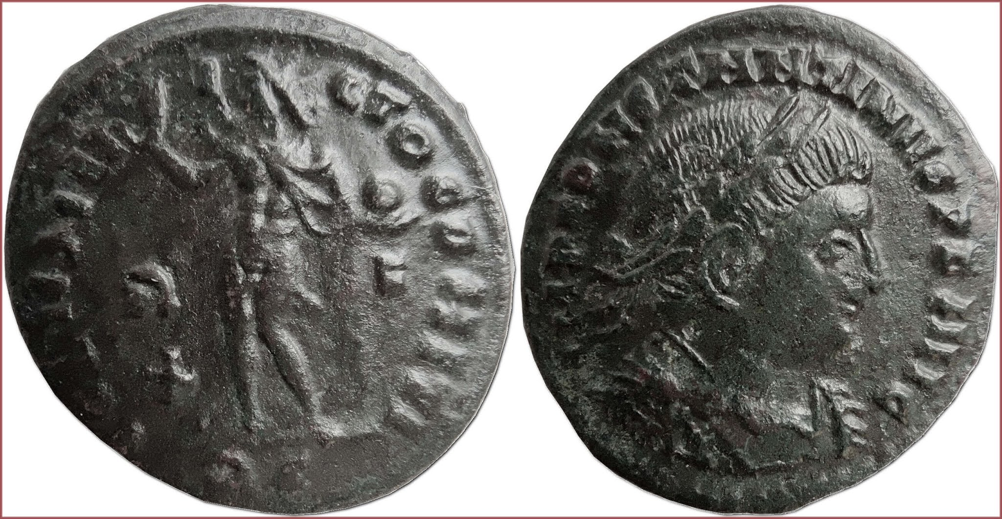 Follis, 314-315 AD: Roman Empire