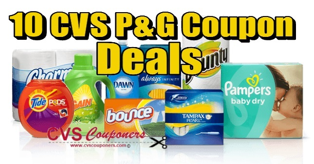 10 CVS P&G Coupon Deals Ideas 714-721