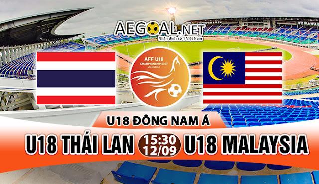 Live Streaming Malaysia U18 Vs Thailand U18 Final AFF 17 September 2017
