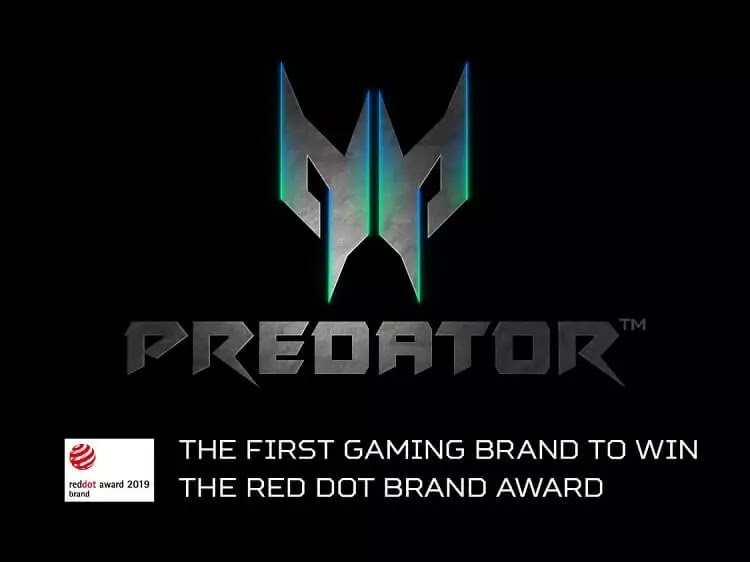 Predator Wins the Red Dot Brand Award