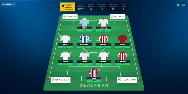 RealFevr  - Para os entusiastas de Futebol