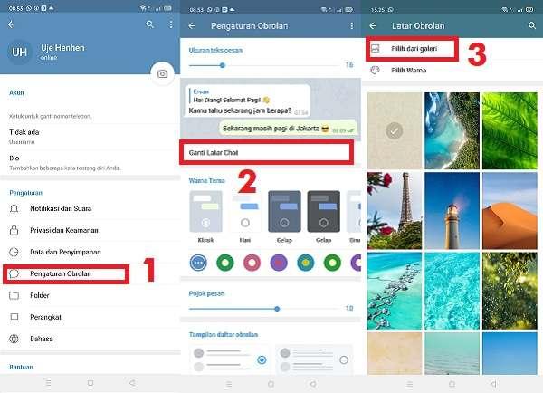 3 Cara Mengganti Tema di Telegram Dengan Mudah