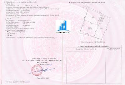Sổ hồng tách riêng căn hộ chung cư mini Minh Đại Lộc