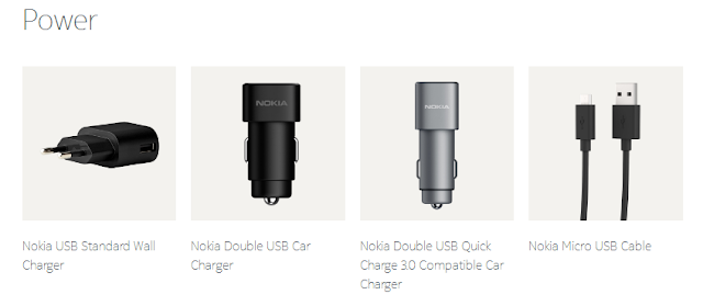 Nokia Chargers