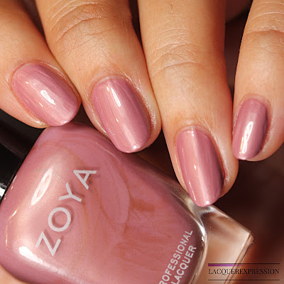 nail polish swatch and review of Rumor from the Zoya Element collection for Fall 2018