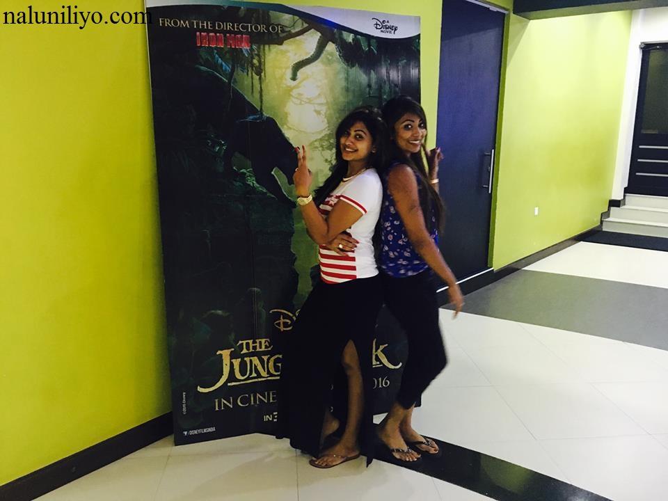 Piumi Hansamali with Nipuni Wilson
