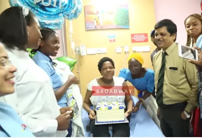 I Had My Baby In A Hospital In Lekki- Toyin Abraham Shuts Down Liz Anjorin's Claim She Had Her Baby In A Traditional Birth Center